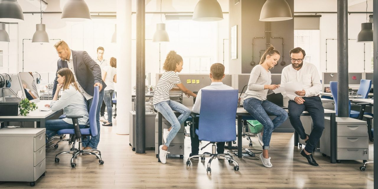 Employers are torn between office and home working.