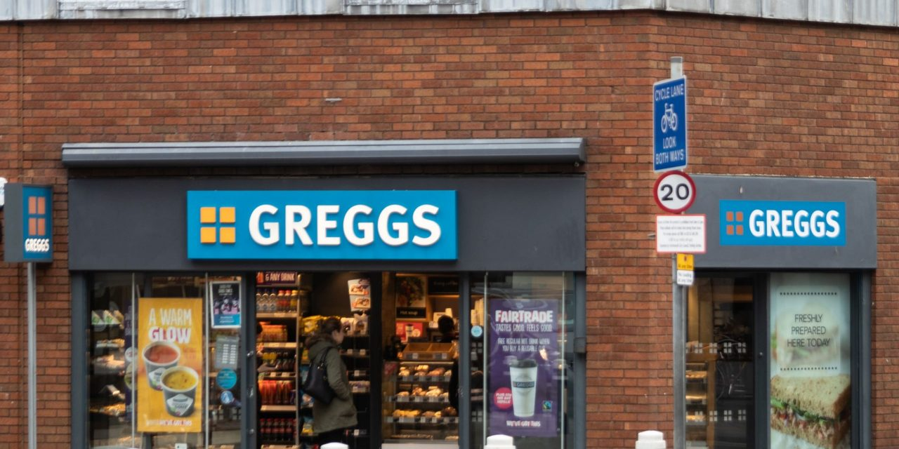 Greggs plans to open 100 stores creating 500 new jobs