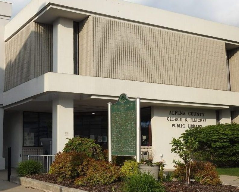 Alpena County Library receives grant from CFNEM